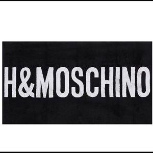 Moschino x H&M towel, brand new